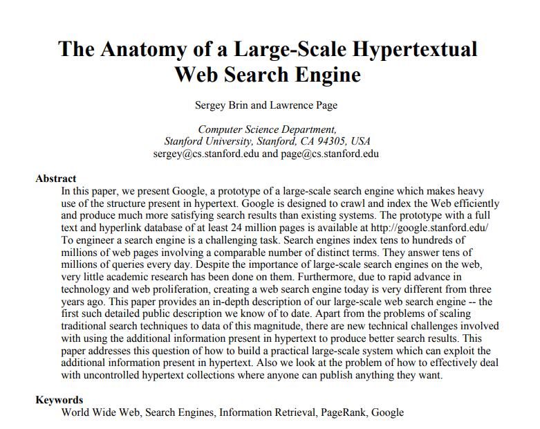 Articulo origen de Google